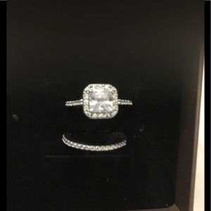 Jewelry - Darling Wedding Set in Sterling Silver